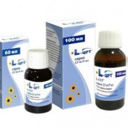 L-цет сироп 2.5 мг/5 мл 60 мл флакон