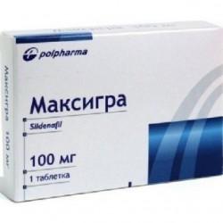 Максигра табл. п/пл.об. 100мг №1 блистер