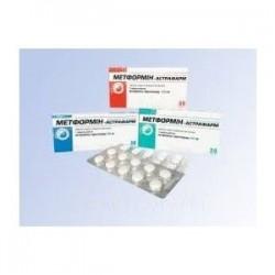 Метформин табл. п/о 850 мг №60