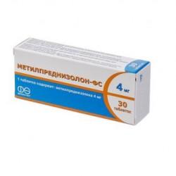 Метилпреднизолон табл. 4 мг №30