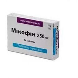 Микофин таблетки 250 мг №14