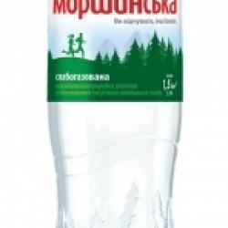 Мин. вода Моршинская бут. 1,5 л, слабогаз.