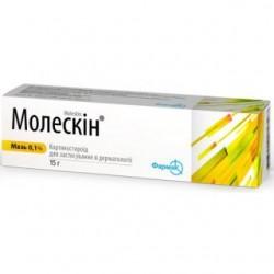 Молескин мазь 0,1% туба 15 г №1