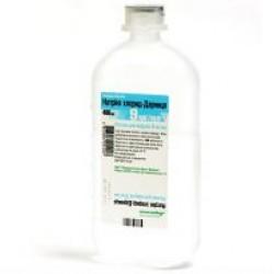 Натрия хлорид р-р д/инф. 0.9% 400мл фл.*