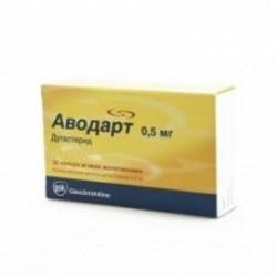Аводарт капс. 0,5 мг №30