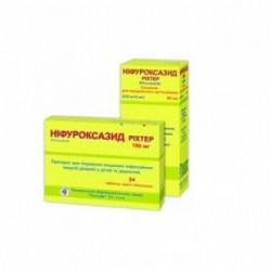 Нифуроксазид рихтер суспензия 220 мг/5 мл флакон 90 мл №1