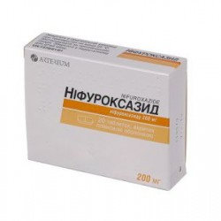 Нифуроксазид таблетки покрытые оболочкой 200 мг №20